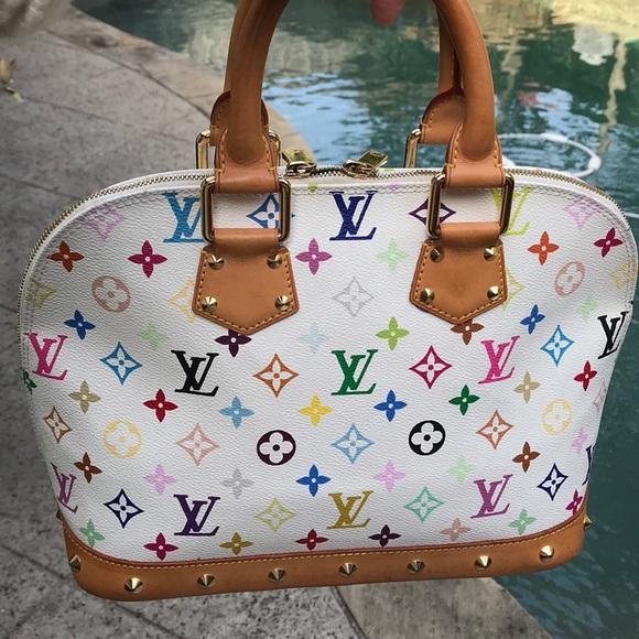 Louis Vuitton Handbags - Louis Vuitton Multi colored Alma PM d48ea4bdbc8b4